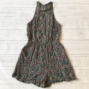 🍄Mossimo women's XS floral romper NWT